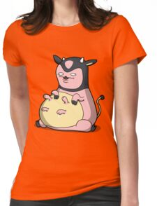 Milk Mc Milkface Womens Fitted T-Shirt