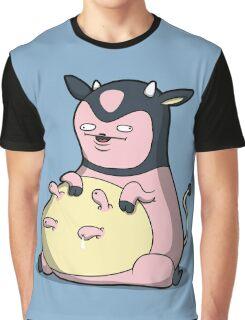 Milk Mc Milkface Graphic T-Shirt