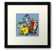 Legendary Doggo's Framed Print