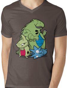 Terrific Tyrannic Dinosaurs Mens V-Neck T-Shirt
