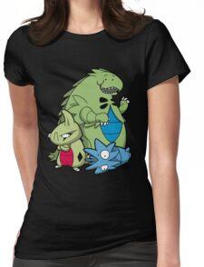 Terrific Tyrannic Dinosaurs Womens Fitted T-Shirt
