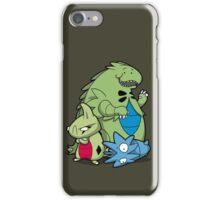 Terrific Tyrannic Dinosaurs iPhone Case/Skin