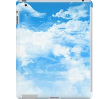Blue Sky and Clouds iPad Case/Skin
