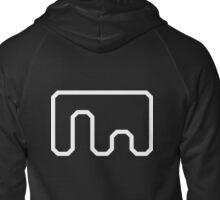 Metanet Software logo Zipped Hoodie