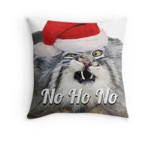 Christmas Cat#2 Throw Pillow