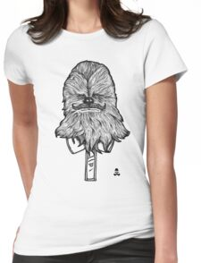 Chewbacca Womens Fitted T-Shirt