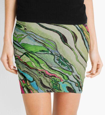 bright landscape Mini Skirt