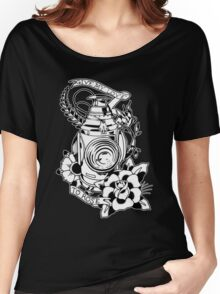Lantern tattoo design Women's Relaxed Fit T-Shirt