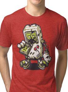 Zombie Game boy Tri-blend T-Shirt