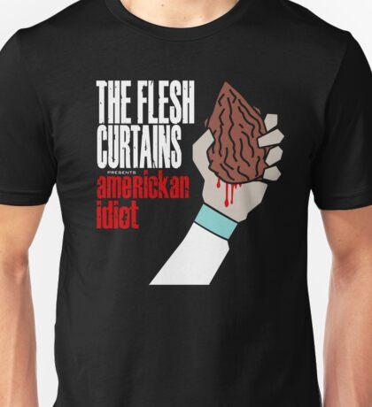 The Flesh Curtains - AmeRICKan Idiot Unisex T-Shirt