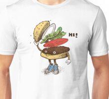 Burger Greeting Unisex T-Shirt