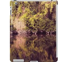 Magical river reflections iPad Case/Skin
