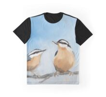 Two Nuts Graphic T-Shirt