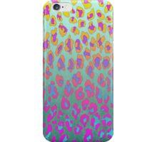 Neon Leopard iPhone Case/Skin
