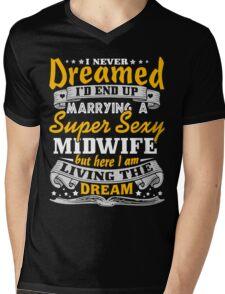 Midwife Husband Gift - Hot shirt 2017 Mens V-Neck T-Shirt