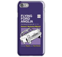 Owners' Manual - Flying Ford Anglia iPhone Case/Skin