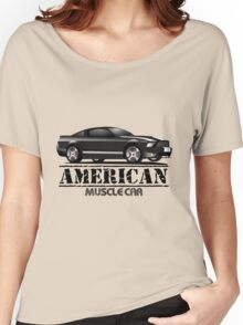 Muscle Car American Women's Relaxed Fit T-Shirt