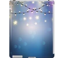 christmas lights  iPad Case/Skin