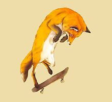 Skateboarding Fox by jaredmunson