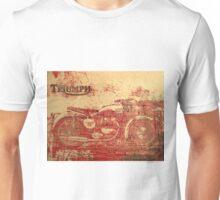 Triumph - Vintage Motorcycle Unisex T-Shirt