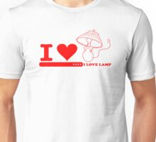 Get New I Love Lamp 2 Funny T-Shirts Unisex T-Shirt