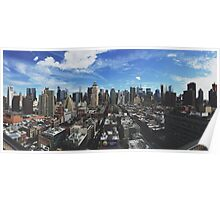City View Landscape Poster