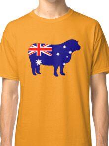 Australian Flag - Sheep Classic T-Shirt