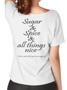 Sugar and Spice Women's Relaxed Fit T-Shirt