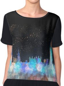 Westminster And Big Ben Cosmos Chiffon Top