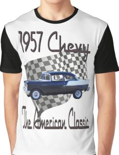 57 Chevy - Finish Line - American Classic Graphic T-Shirt