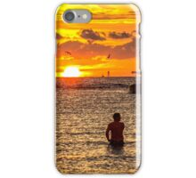 Sand Key Sunset iPhone Case/Skin
