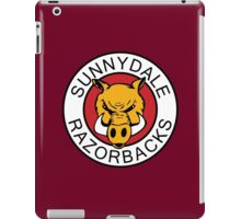 Sunnydale Razorbacks Series 1-3 iPad Case/Skin