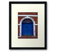Custom House Framed Print
