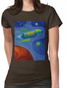Space Oddity 2016 Womens Fitted T-Shirt