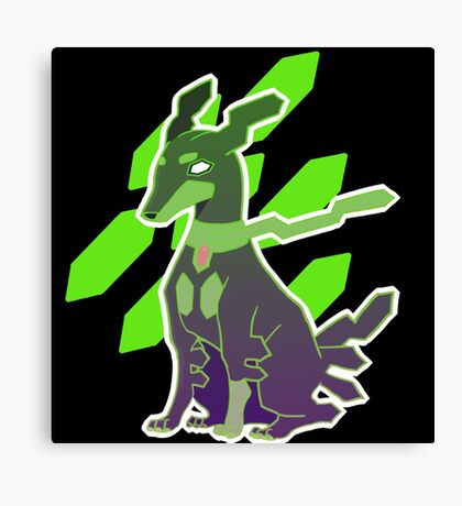 Zygarde 10% Form Canvas Print