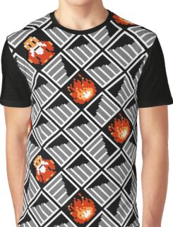 Take Any Road You Want / pattern / black Graphic T-Shirt