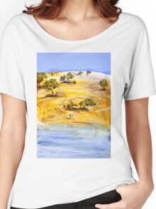 On the boundary Women's Relaxed Fit T-Shirt