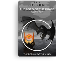 The Lord Of The Rings - The Return Of The King Canvas Print