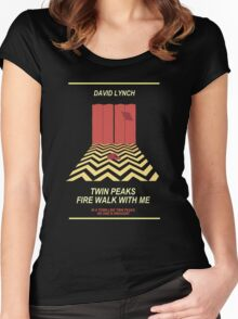 Twin Peaks: Red Room Women's Fitted Scoop T-Shirt