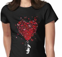 The Love Gun Womens Fitted T-Shirt