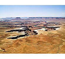 Island in the Sky Overlook, Utah Photographic Print
