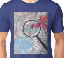 Magnifying Glass Spider Unisex T-Shirt