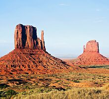 The Mittens, Monument Valley, Navajo Nation by Kenneth Keifer