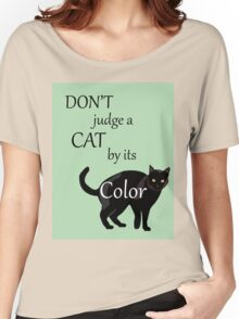Cat Poster Women's Relaxed Fit T-Shirt