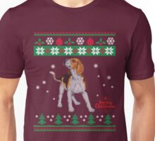 Christmas 2017 is better with a beagle dog Unisex T-Shirt