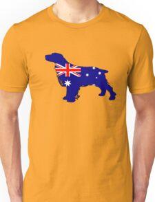 Australian Flag - Spaniel Unisex T-Shirt