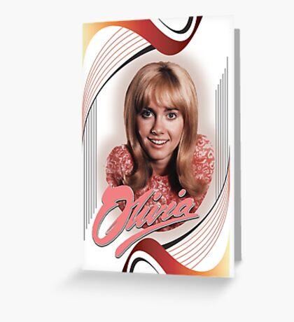 Olivia Newton-John - Early Days Greeting Card