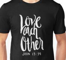 Love Each Other John 13 34 Christian Bible Verse  Unisex T-Shirt