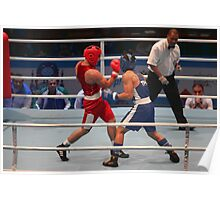 boxing uppercut right hand Poster