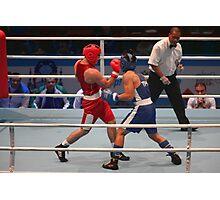 boxing uppercut right hand Photographic Print